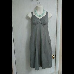 ECI gray shift dress